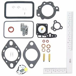 Holley 1 Barrel 1904 Carburetor Kit 1960 1968 International 152 196 220 Engines