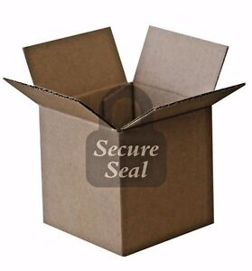 125 4x4x4 200 Lb 32 Ect Cardboard Shipping Mailing Moving Packing Corrugated Box