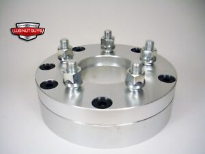 2 Wheel Spacers Adapters 4x100 To 5x4 5 2 Thick 4 Lug To 5 Lug
