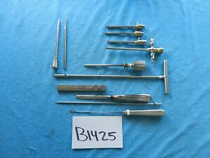 Acufex Dyonics Stryker Surgical Arthroscopic Instruments