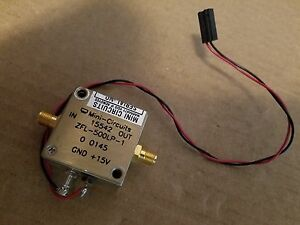 Mini circuits 15542 Zfl 500lp 1 Rf Microwave Amplifier 15v Sma f New n112701