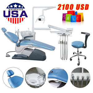 Fda Ce Dental Chair Unit Computer Control Hard Leather Tuojian a1