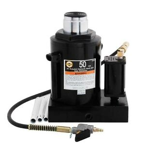 Omega 18502 Air Actuated Bottle Jack 50 Ton