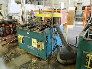 Dodds Fd 36 Automatic French Dovetail Machine woodworking Machinery