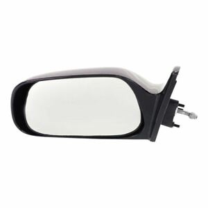 New To1320103 Driver Side Mirror For Toyota Corolla 1988 1992