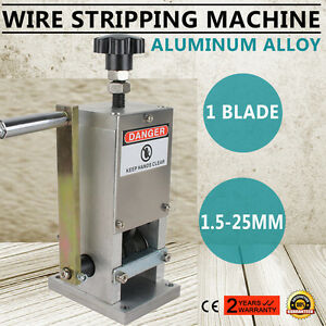 Safety Manual Copper Cable Wire Stripper Scrap Copper Stripping Machine Us Ship