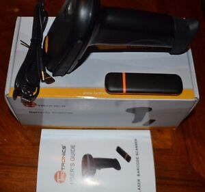 Taotronics 2 4g Wireless Cordless Handheld Barcode Scanner Model Tt bs012