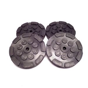 Rubber Lift Arm Pads 4 For 2 Post Atlas Peak Auto Lifts 209134 Ships Fast