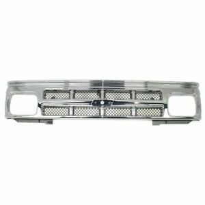 New Grille Gm1200326 For Chevrolet S10 1991 1993