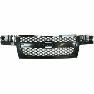 New Gm1200560 Grille Textured Gray Plastic For Chevrolet Colorado 2004 2009
