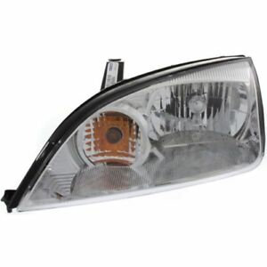New Fo2502210c Capa Driver Side Headlight For Ford Focus 2005 2007