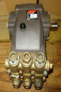 Used Hotsy Triplex Pump model Hh306r 2 sn 001602 Pressure Washer Pump