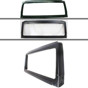 New Ch1280108 Windshield Frame For Jeep Wrangler 1998 2002