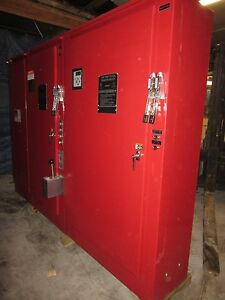 Firetrol 300 Hp Fire Pump Controller Transfer Switch 480v Fta950 Am600b Nema 4