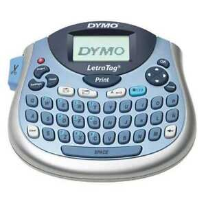 Label Maker Letratag 2 Lines Silver blue Dymo 1733013