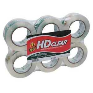 Packaging Tape 1 88 X 109 Yd clear pk6
