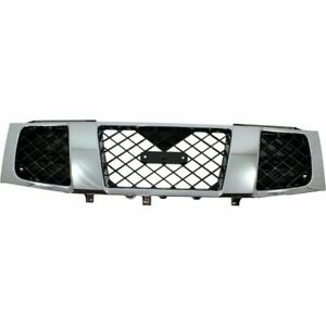 New Ni1200210 Grille For Nissan Titan 2004 2007