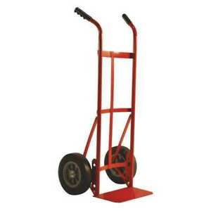 Dual Handle Truck with 10 solid Tires Milwaukee Hand Trucks Dc47132