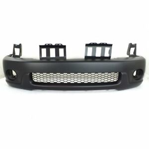New To1000223 Front Bumper Cover For Toyota Sequoia 2001 2004