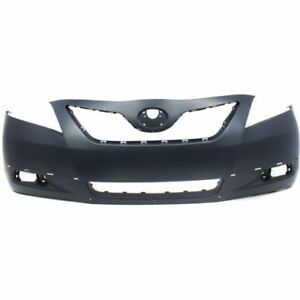 New To1000318 Front Bumper Cover For Toyota Camry 2007 2009