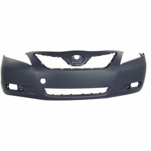 New To1000327 Front Bumper Cover For Toyota Camry 2007 2009