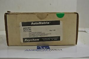 Raychem Automatrix C77099 Chemelex Heattracing Systems Splice Kit Amg bsii
