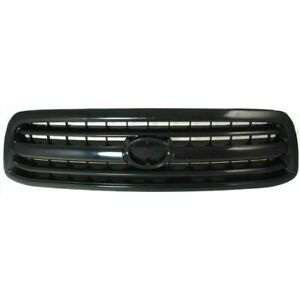 New To1200224 Black Front Grille Assembly For Toyota Tundra 2000 2001 2002