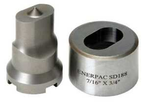 Enerpac Spd188 Punch And Die Set 3 8 Oval