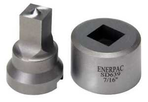 Enerpac Spd639 Punch And Die Set 3 8 Square