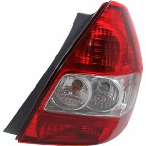 New Ho2801169 Passenger Side Tail Light For Honda Fit 2007 2008