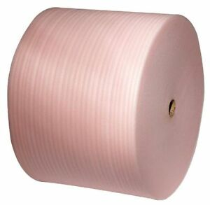 Anti static Foam Roll 24 X 550 Ft Perforated 1 8 Thickness Pink Pk3