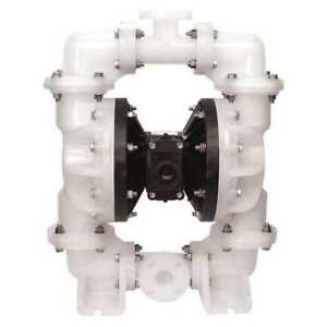 2 Polypropylene Air Double Diaphragm Pump 150 Gpm 180f