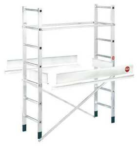 Scaffold Ladder Add on 396 Lb Aluminum Hailo 9477 001