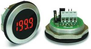 Led Voltmeter waterproof 3 1 2in 200mv Lascar Em32 1b led