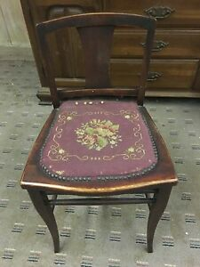 Piano Chair Vanity Dressing Chair Antique