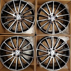 19 New Amg Oem Sl S550 Cl63 2016 Model Mercedes Benz Rims Wheels Price Set Of 4