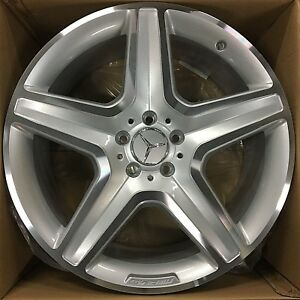 20 Oem Mercedes Benz 2018 19 Gl Amg Wheels Rims Gl350 Gl550 Gls Gl450 Ml Set 4
