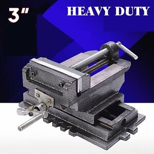 Cross Slide Vise 3 Inch Wide Drill Press X Y Clamp Milling Heavy Duty Hm