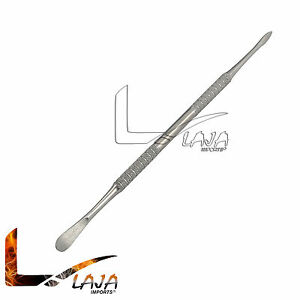 6 Dule Tip Dental Pick Tool Carver Tool Stainless Steel Multi Use