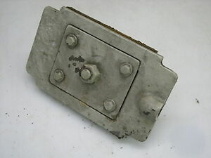 Part For Model 8m Wells Wellsaw Horizontal Band Saw B10 Wheel Adjusting Block