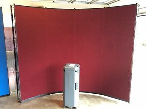 Skyline Mirage 10ft Popup Portable Display Trade Show Booth Red