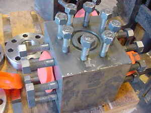 New Gas Oil Well Casing Head Valve Blocks Flanges