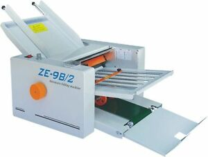 210 420mm Paper Auto Folding Machine 2 Folding Plates Ze 9b 2