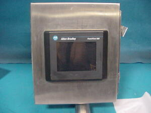 Allen Bradley Panelview 600 2711 t6c20l1 Stainless Steel Enclosure Transformer