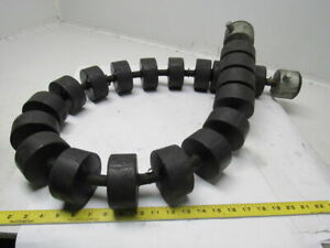 Crouse Hinds Co Limberoller Flexible Conveyor Idler Roller For 54 Belt 3 3 8 O
