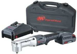 Ingersoll Rand W5330 k12 3 8 20v Right Angle Impactool One Battery Kit