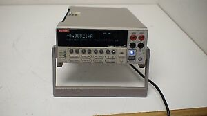 Keithley 2400c 1uv 200v 10pa 1a 20w Sourcemeter W Contact Check Gpib