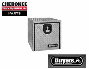 Buyers Products 1705153 Aluminum Underbody Toolbox 14 W X 12 D X 30 W