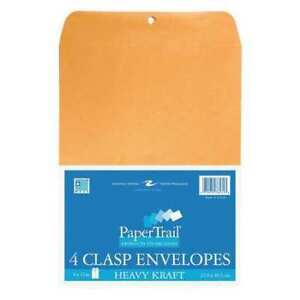 24pk Clasp Envelopes From 24 Brown Kraft 4 9 x12
