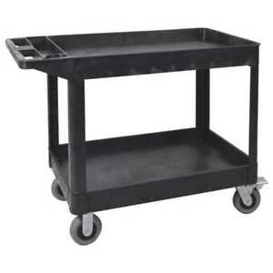 Utility Cart 2 Shelf heavy Duty sp6 Luxor Xlc11sp6 b